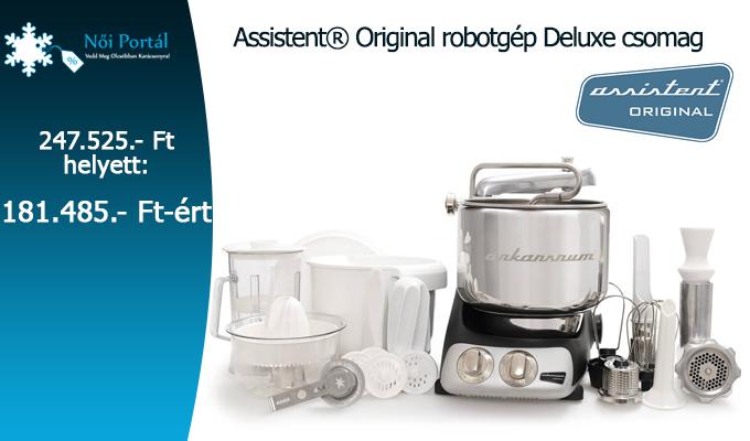 Assistent� Original robotg�p Deluxe csomag
