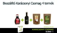 Biosz�ll�t� Kar�csonyi Csomag 4 term�k