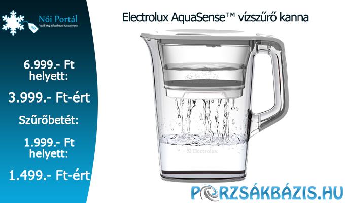 Electrolux AquaSense v�zsz�r� kanna