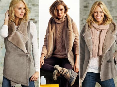 A szőrme mellények és kabátok remekül tartják a meleget. Egy szőrme kabát d34f79684c