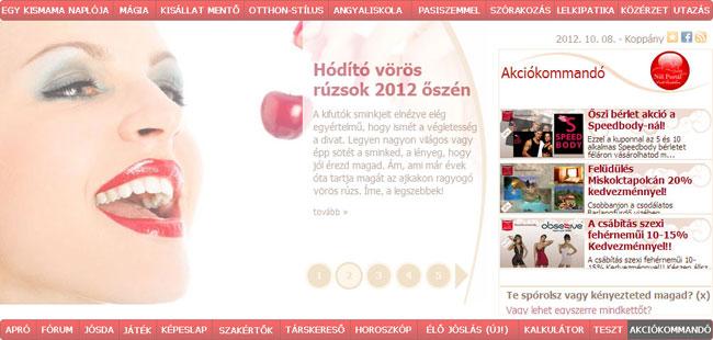 Magazin slide