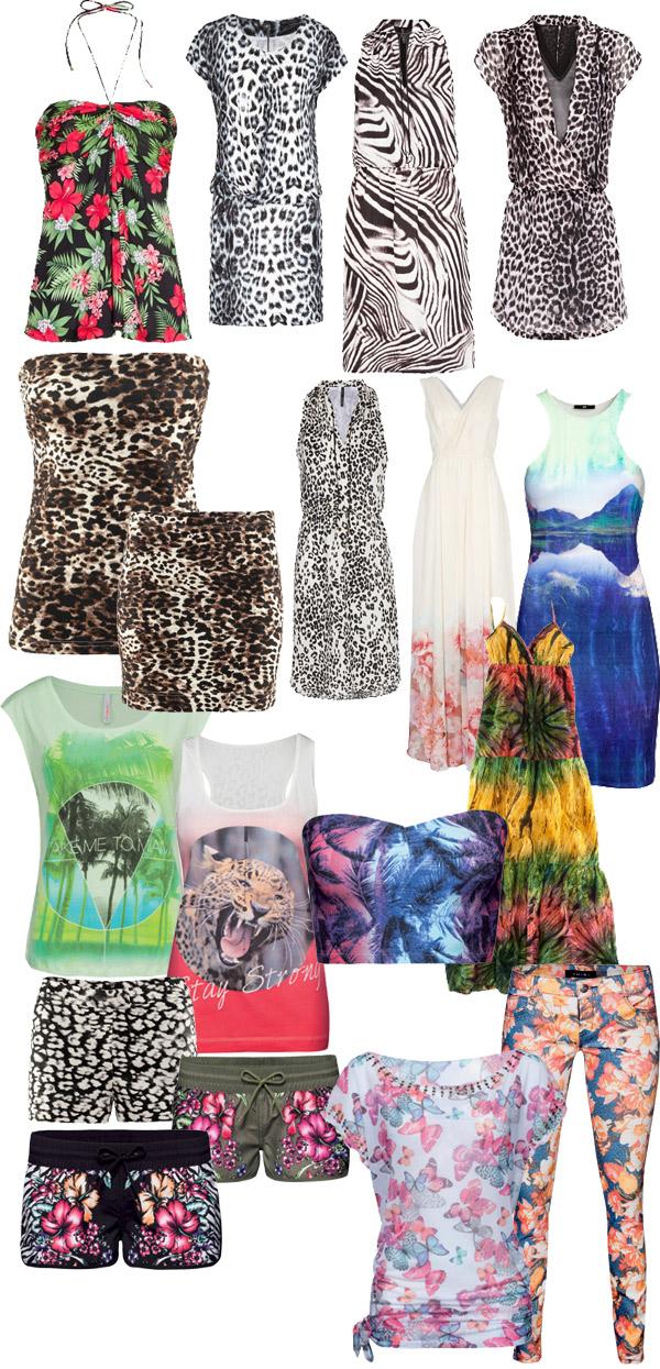 c89455fca0 Mindegy, hogy hosszú ruha, short, vagy éppen aprócska felső, a lényeg, hogy  viselésekor valóban a dzsungelben érezd magad!