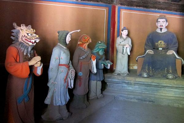 10 hátborzongató és rémisztő vallási szentély