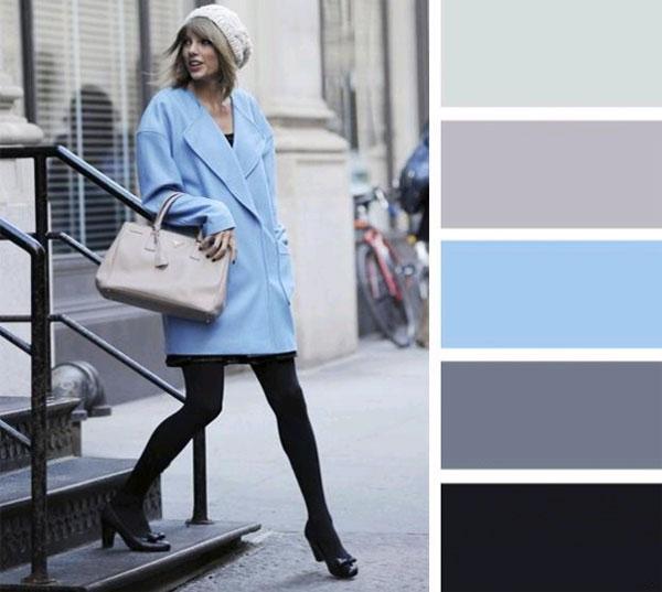 Meleg színkombinációk a hűvös télben