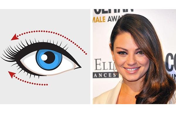 Tippek, hogyan használd a szemcerkát a szemed formákához illően