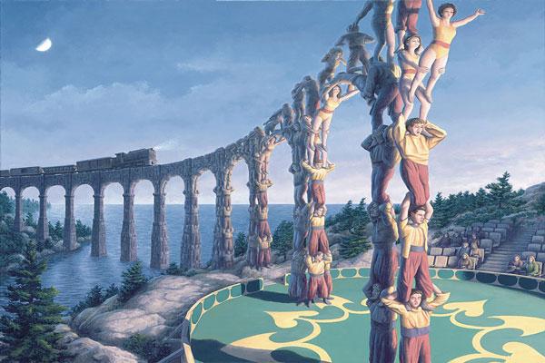 Íme, 15 csodálatos festmény, ami egyszerre optikai illúzió is