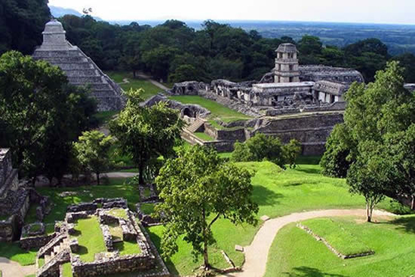 Lenyűgöző képeken Palenque, a maja romváros
