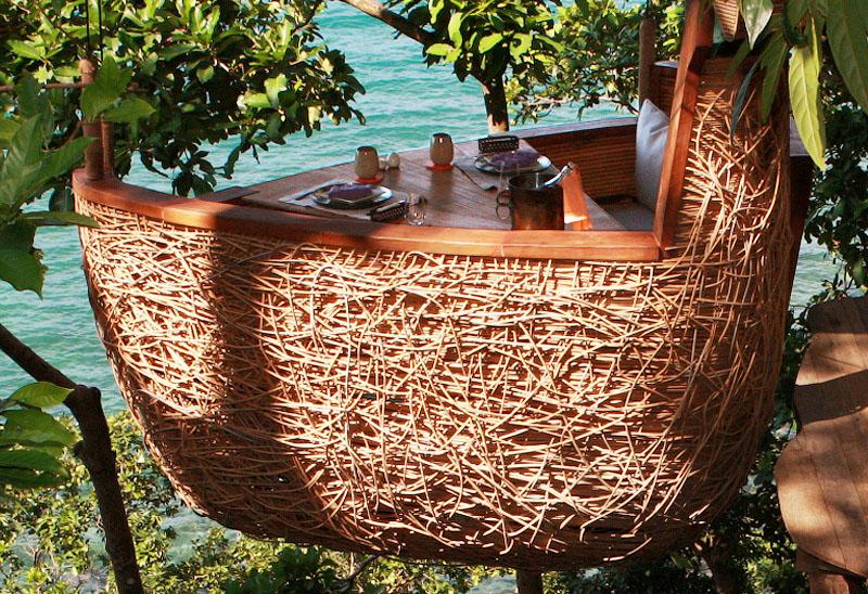 Étterem a fa tetején